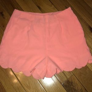Pants - Scalloped high waisted shorts!